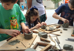 1Spark!_2015_CarolinaSculpture_ClayWorkshop1