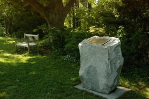 Shell Rock Pitch feature Hatcher Gardens