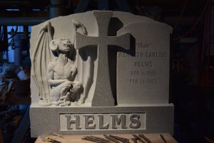 The Saved Sinner gothic-inspired memorial