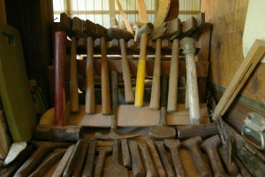 Hand tools including hand axes and hammers